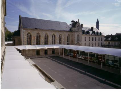 Fabric architecture in an historical building batiments de France by ACS Production France BHD Group